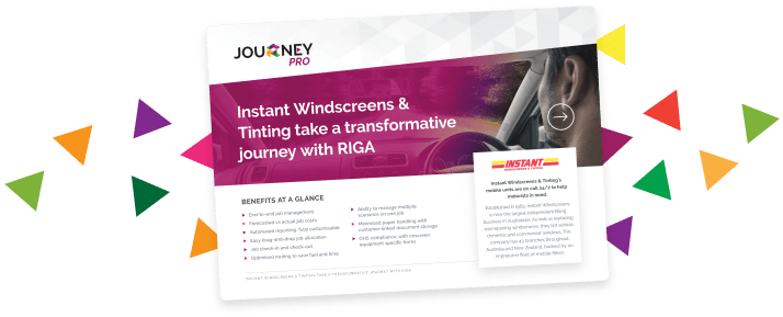 JourneyPRO Instant Windscreens Case Study