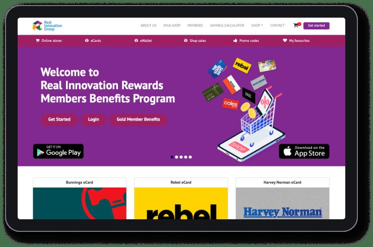 Real Innovation Rewards Program